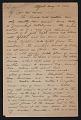 View Edward Willis Redfield, Center Bridge, Pa. letter to Mr. Morris digital asset: page 1
