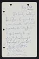View Handwritten contract with Bernard J. Reis digital asset number 0