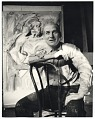 View Willem de Kooning with his work digital asset number 0