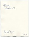 View Willem de Kooning with his work digital asset: verso