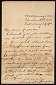 View Langston Hughes, Cleveland, Ohio letter to Enrique Riverón, New York, N.Y. digital asset number 0