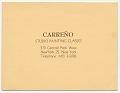 View Mario Carreño, New York, N.Y. to Enrique Riverón digital asset number 2