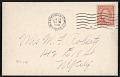 View Carnegie Hall, New York, N.Y. postcard to Mary Fanton Roberts, New York, N.Y. digital asset: verso