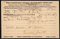 View Pamela Colman Smith, New York, N.Y. telegram to Mary Fanton Roberts, New York, N.Y. digital asset number 0