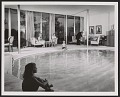View Indoor swimming pool in the residence of Josephine Herbert Graf and Bruno K. Graf, Dallas digital asset number 0