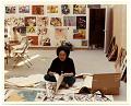 View Esther Rolick in her studio digital asset number 0