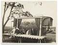 View Photograph of Grant Wood and his ice wagon digital asset number 0