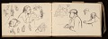 View Lewis Rubenstein's sketchbook documenting a hunger march to Washington, D.C. digital asset number 7