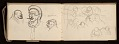 View Lewis Rubenstein's sketchbook documenting a hunger march to Washington, D.C. digital asset number 10