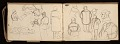 View Lewis Rubenstein's sketchbook documenting a hunger march to Washington, D.C. digital asset number 12