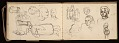 View Lewis Rubenstein's sketchbook documenting a hunger march to Washington, D.C. digital asset number 14