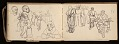 View Lewis Rubenstein's sketchbook documenting a hunger march to Washington, D.C. digital asset number 15
