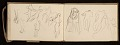 View Lewis Rubenstein's sketchbook documenting a hunger march to Washington, D.C. digital asset number 23