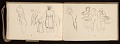 View Lewis Rubenstein's sketchbook documenting a hunger march to Washington, D.C. digital asset number 24