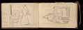 View Lewis Rubenstein's sketchbook documenting a hunger march to Washington, D.C. digital asset number 29