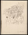 View Lewis W. Rubenstein sketchbook of hunger walk to Washington digital asset number 0