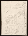 View Lewis W. Rubenstein sketchbook of hunger walk to Washington digital asset number 2