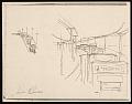 View Lewis W. Rubenstein sketchbook of hunger walk to Washington digital asset number 4