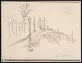 View Lewis W. Rubenstein sketchbook of hunger walk to Washington digital asset number 17