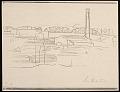 View Lewis W. Rubenstein sketchbook of hunger walk to Washington digital asset number 18