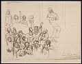View Lewis W. Rubenstein sketchbook of hunger walk to Washington digital asset number 20