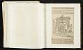 View Scrapbook regarding Centennial Celebration of George Washington's Inauguration digital asset: sketchbook page 69