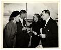 View Aline and Eero Saarinen at an exhibition opening digital asset number 0