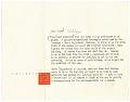 View Frank Lloyd Wright to Aline B. (Aline Bernstein) Saarinen digital asset: page 1