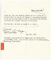 View Frank Lloyd Wright to Aline B. (Aline Bernstein) Saarinen digital asset: page 2