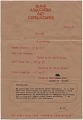 View Jim Dine letter to Audrey Sabol digital asset: page 1
