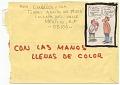 View Miguel Cubiles, Mexico, to Baruj Salinas, Miami, Fla. digital asset: envelope verso