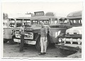 View Emilio Sanchez standing by bus in Cartagena, Colombia digital asset number 0