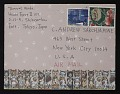 View Tomomi Wada, Tokyo, Japan letter to C. Andrew Sarchiapone, New York, New York digital asset: envelope
