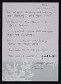 View Tomomi Wada, Tokyo, Japan letter to C. Andrew Sarchiapone, New York, New York digital asset: page 2