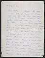 View Pablo Picasso letter to Bertha Schaefer digital asset number 0