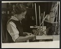 View June Schwarcz working at an electroplating tank digital asset number 0