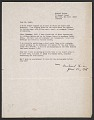 View Michael Heizer, New York, N.Y. letter to Robert C. Scull digital asset number 0