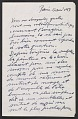 View Alberto Giacometti letter to Peter Selz digital asset number 0
