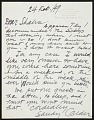 View Alexander Calder, Roxbury, Connecticut letter to Ben Shahn, New York, New York digital asset: page 2