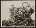 View A building in Hiroshima destroyed by the atom bomb. digital asset number 0