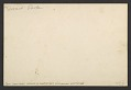 View Sewart Park (New York City), 1932-35 digital asset: verso