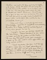 View Honoré Sharrer, New York, N.Y. letter to Honoré Sachs digital asset number 3