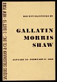 "View ""Recent Paintings by Gallatin, Morris and Shaw"" digital asset number 0"