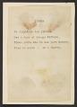 View Charles Green Shaw's <em>Rhymed recipes</em> digital asset number 43
