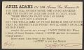 View Ansel Easton Adams postcard to Charles Sheeler digital asset number 4