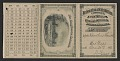 View Xanthus Smith's admission card to the Centennial Exhibition digital asset number 0