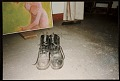 View Hassel Smith's shoes on studio floor digital asset number 0