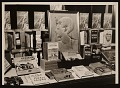 View Bookstore display featuring art and book of Joseph Lindon Smith digital asset number 0