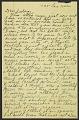 View Bradley Walker Tomlin letter to Judson Dejonge Smith digital asset number 1