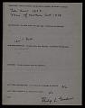 View American Art Research Council form for <em>Sails</em>, 1911, by Arthur Dove digital asset number 1